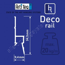 Artiteq CX 110 kroonlijst basic 200 cm