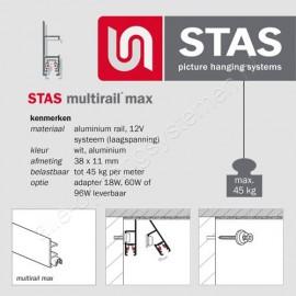 STAS Multirail Max - 200cm