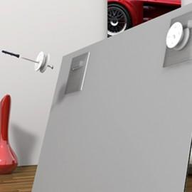 AOS A-symmetische ophang schijfjes per stuk - 20,5 x 5 mm