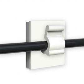GeckoTeq Zelfklevende kabelhaken – Nylon wit in 5 afmetingen