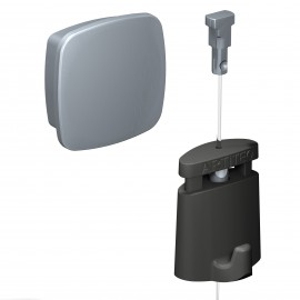 Artiteq Uniq Hanger 1,0mm Staal draad en Haak (Set)