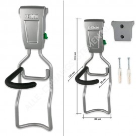 Fiets Ophangsysteem Set voor 1 Fiets incl. muurbeschermer - GSH120