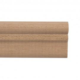 STAS Windsor Houten Kantlat 200 cm Wand Rail