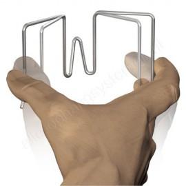 Artiteq scheidingswandhaak flex - voor een paneeldikte van 11-30mm